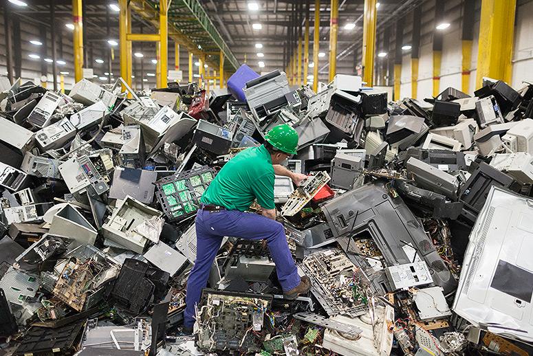 E-otpad - waste