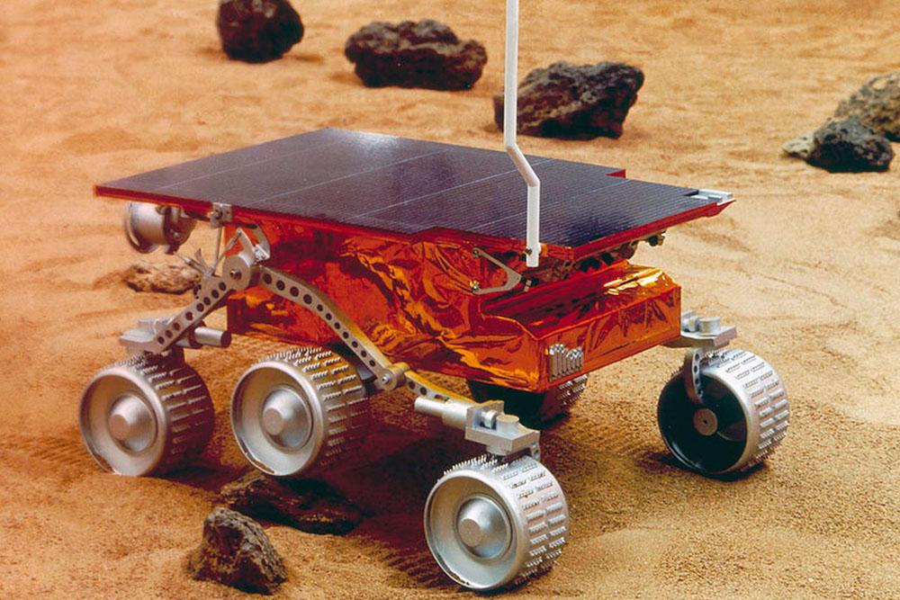 Прва покретна сонда са камерама - Pathfinder – Први ход на Марсу, 1997.