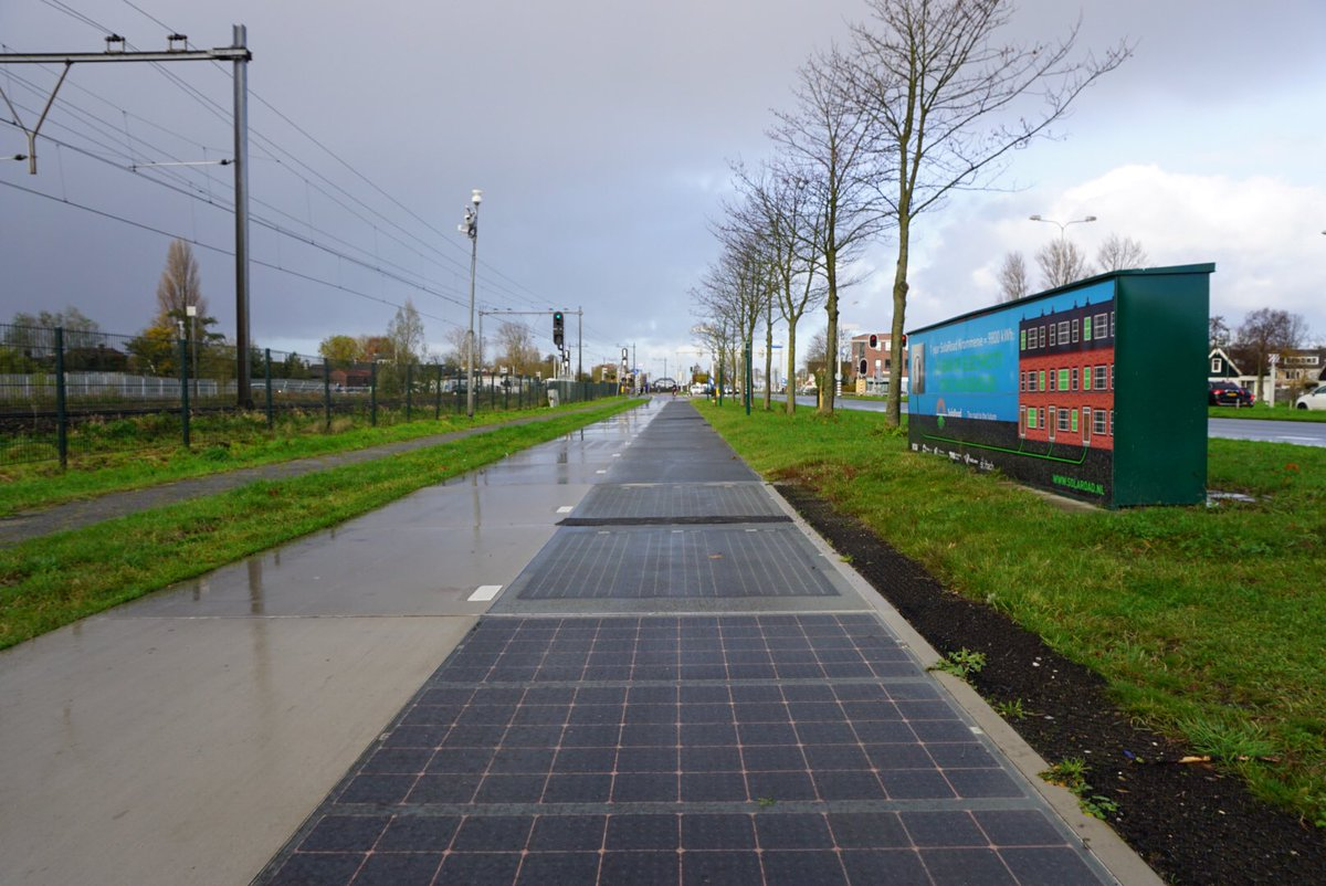 Solaroad, соларна бициклистичка стаза, Холандија