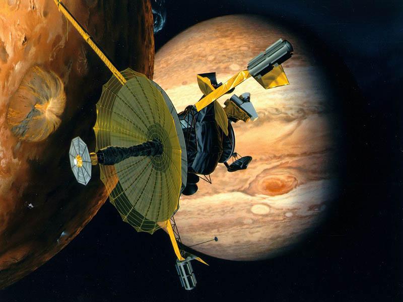 Возило <em>Сонда Galileo, (1991)</em>