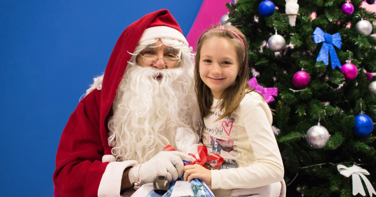 Деда Мраз на МЕФ-у