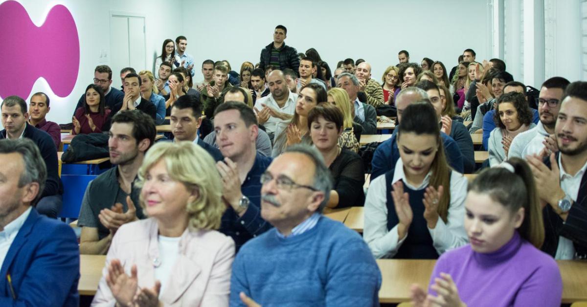 """Пун Амфитеатар на пројекцији филма """"Косово: Моменат у цивилизацији"""""""