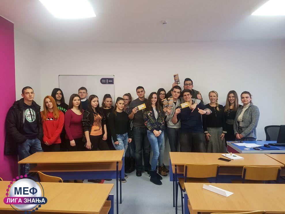MEF Fakultet - Liga znanja - drugi krug