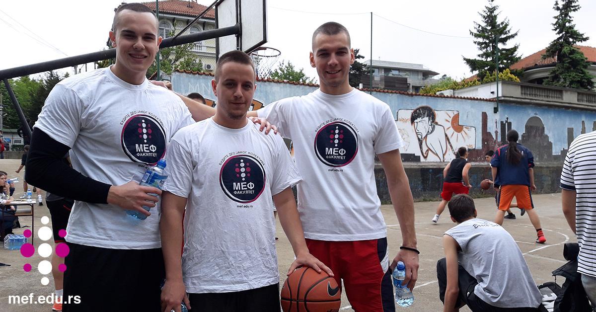 МЕФ факултет подржао спортски турнир у Четвртој београдској гимназији