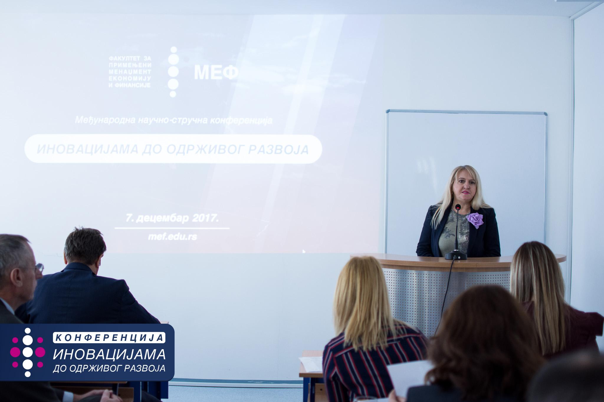 Jasmina Madzgalj - Sekretarijat za zastitu zivotne sredine u okviru gradske uprave grada Beograda - MEF Fakultet