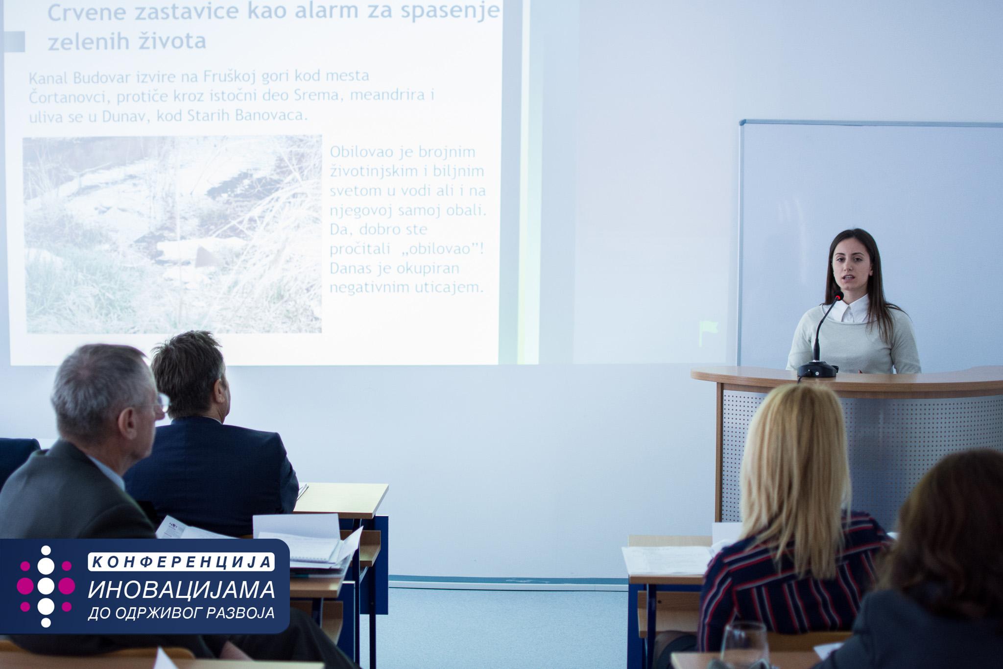 Andrijana Arsic - Zelene zastavice - Ekonomska skola Nada Dimic - Zemun - MEF Fakultet