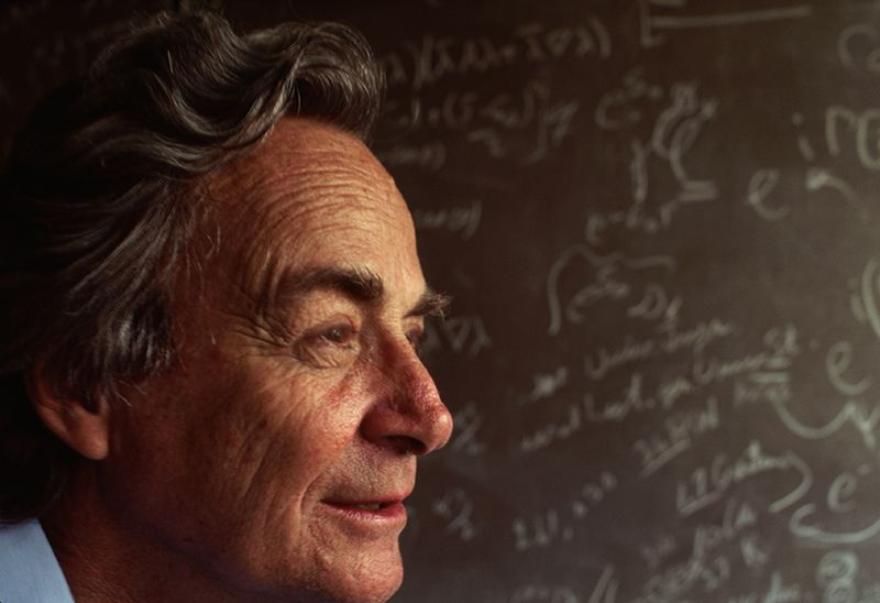 1. Richard Feyman (физичар и нобеловац, праотац НТ)