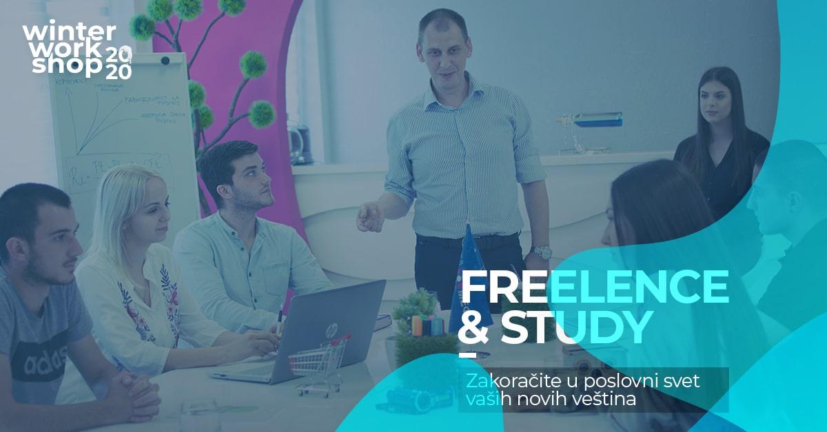 МЕФ Факултет - Зимске креативне радионице - Freelance & Study