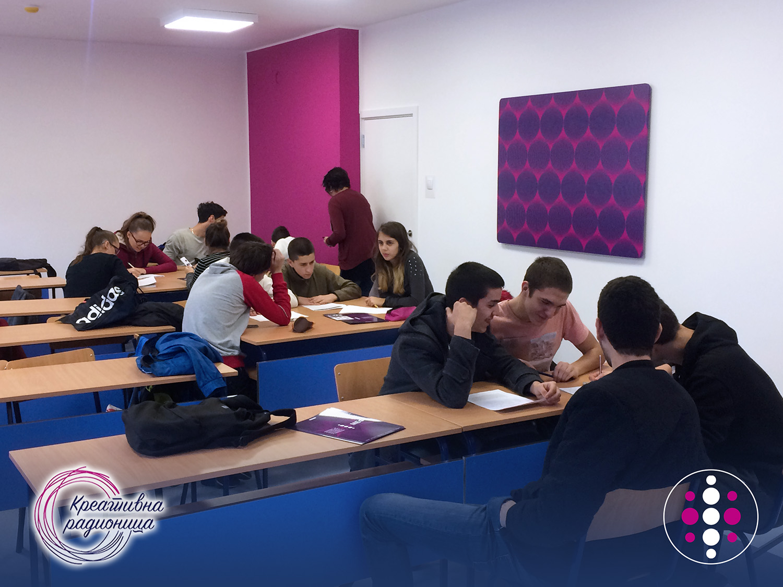 MEF Fakultet - Kreativna radionica na engleskom