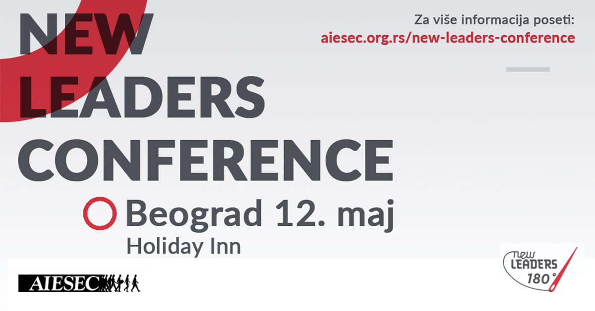 МЕФ факултет - Aiesec New Leaders Conference