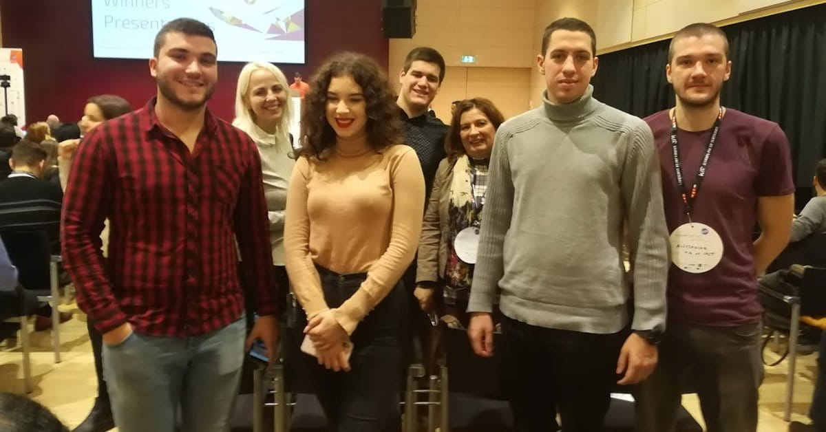 МЕФ факултет - Студенти МЕФ-а на Youth for Innovation у Грацу