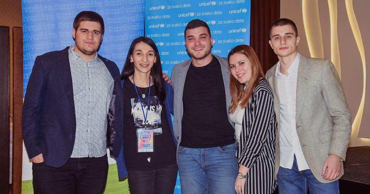 MEF fakultet - Студенти на такмичењу Generation Unlimited