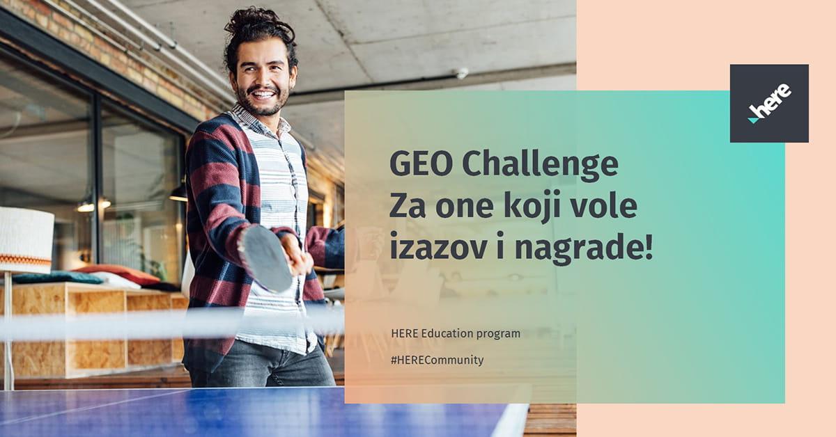 MEF fakultet - GEO Challenge