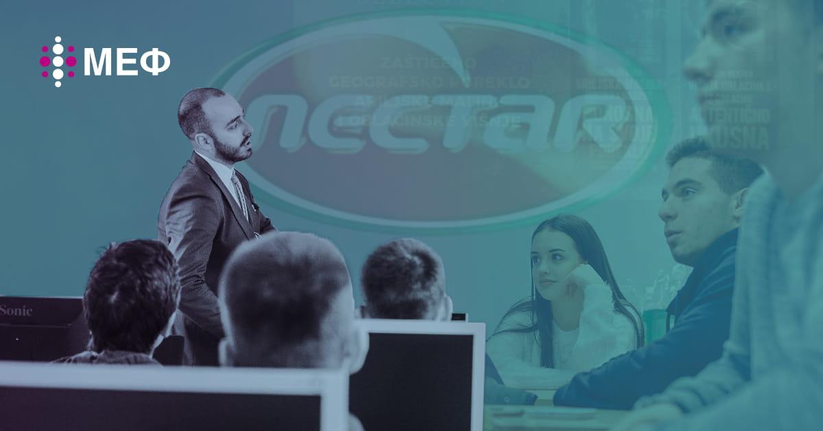 MEF fakultet - Гостујуће предавање компаније NECTAR