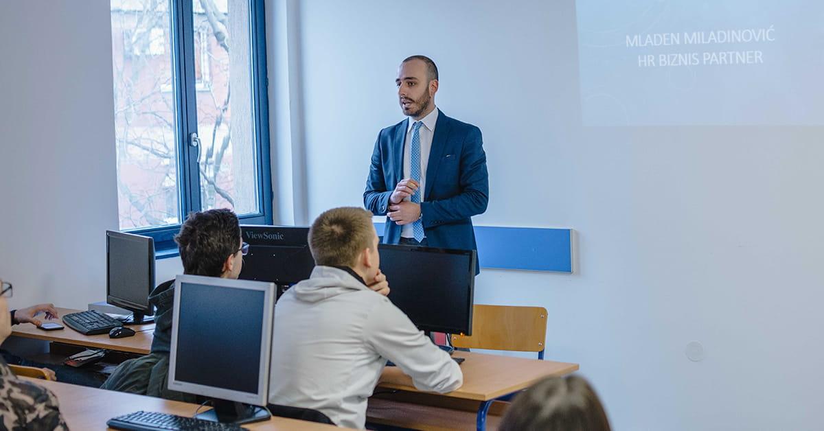 МЕФ факултет - Гостујуће предавање компаније NECTAR 1