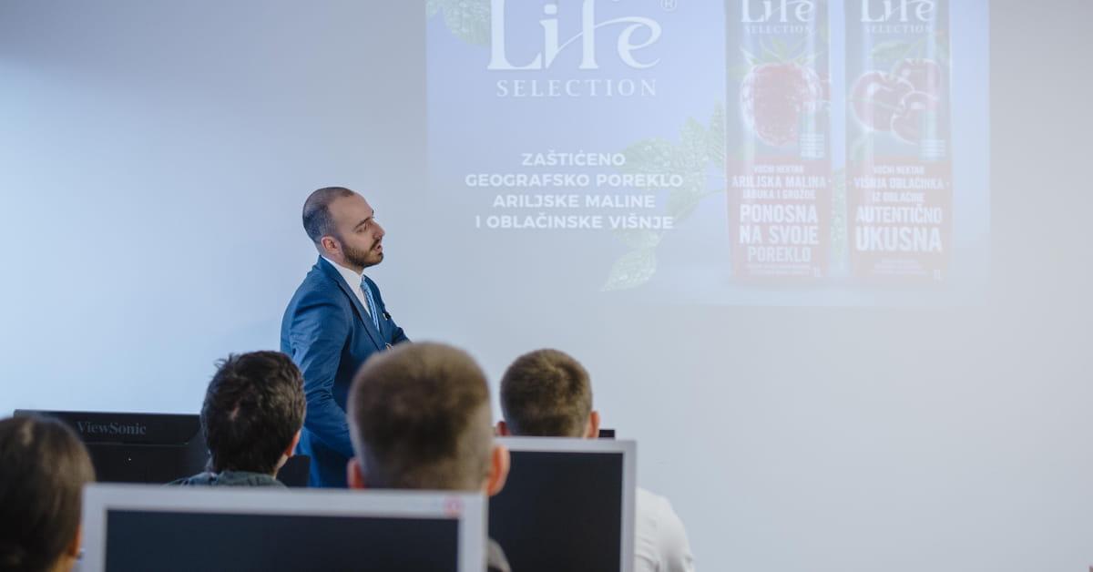 МЕФ факултет - Гостујуће предавање компаније NECTAR 2