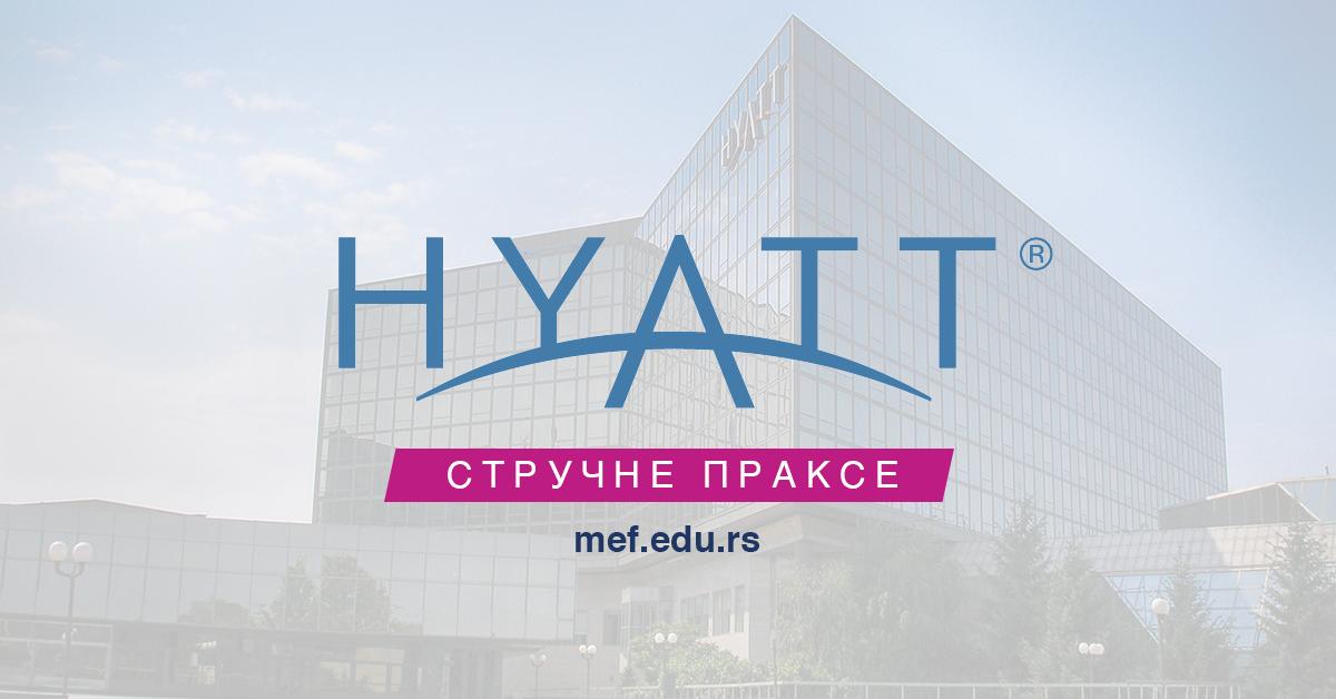 MEF Fakultet - Hayatt strucna praksa