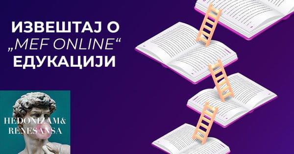 <strong><em>MEF online</em> едукација</strong> / Извештај