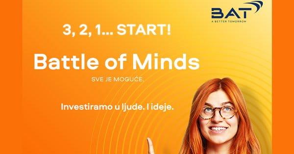 <strong>Глобално такмичење у предузетништву <em>Battle of Minds</em></strong> / Обавештење