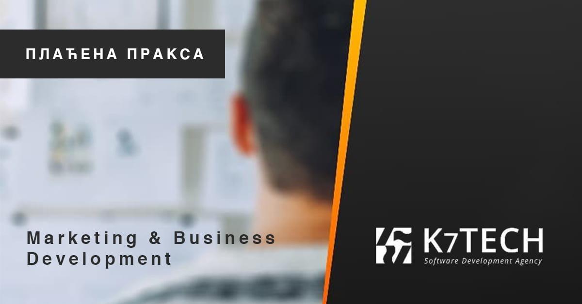 МЕФ факултет - Marketing & Business Development