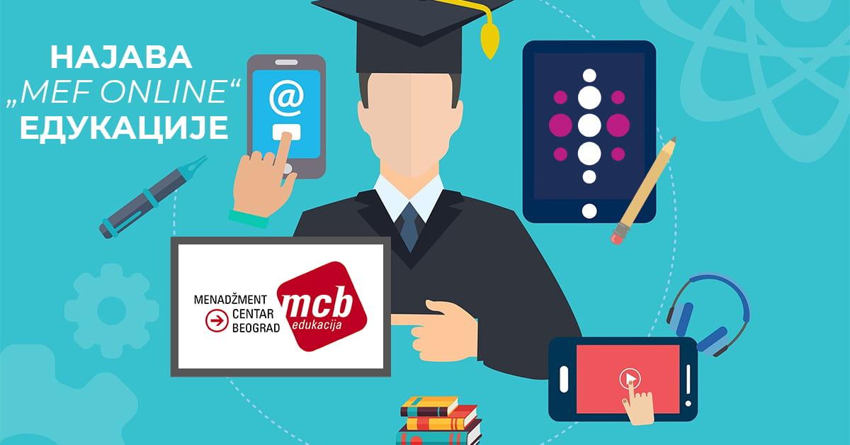MEF fakultet - Online едукације