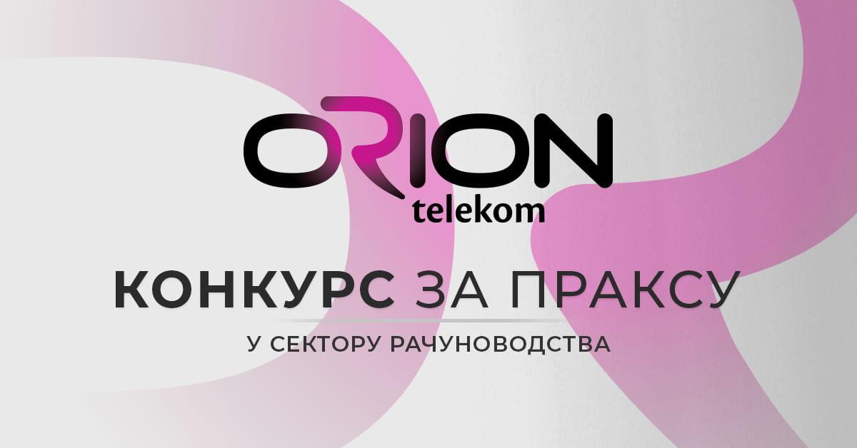 MEF fakultet - ORION TELEKOM