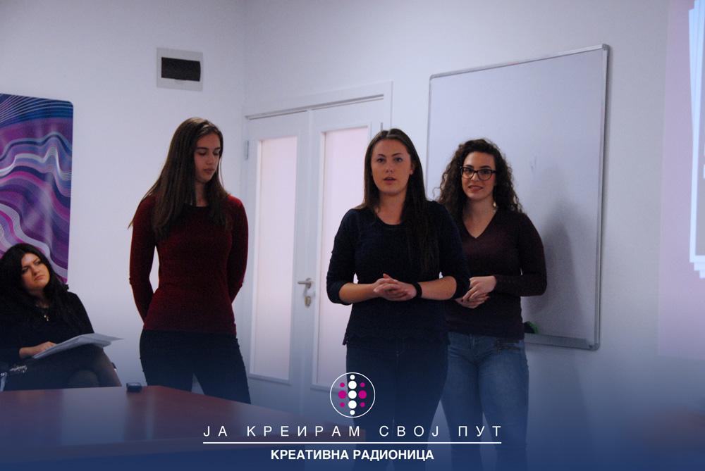 MEF Fakultet - Radionica Ja kreiram svoj put