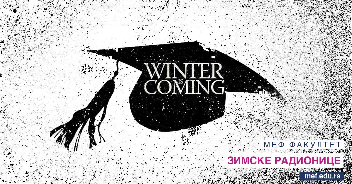 Zimske kreativne radionice - MEF fakultet